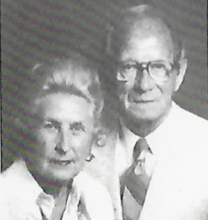 Previous owners of Babbs Supermarket in Spencer Indiana